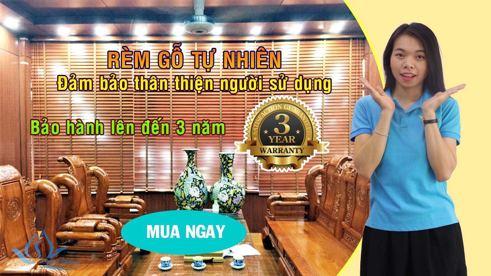 Rèm gỗ tự nhiên đẹp nhất Hà Nội