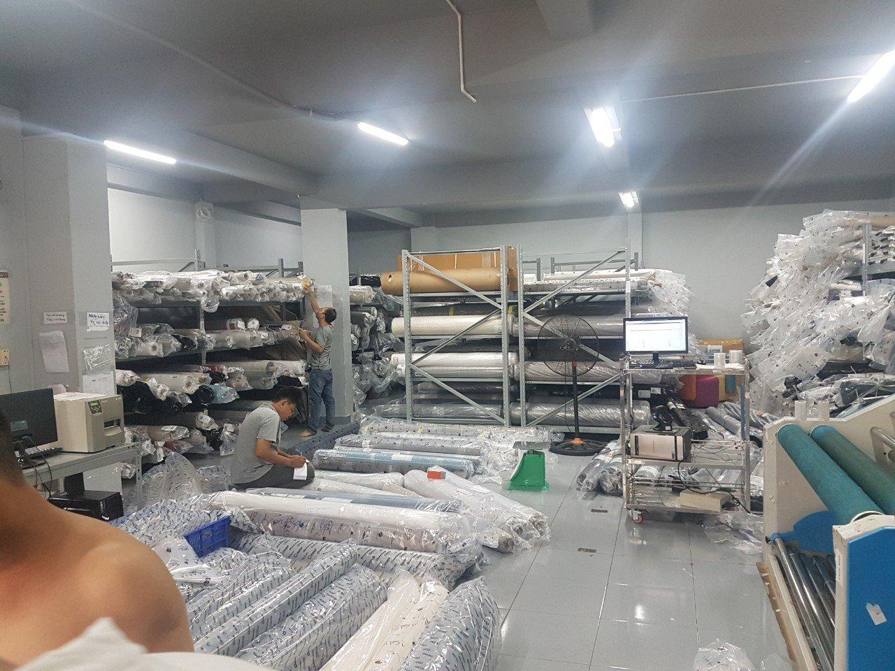 kho xưởng vải bỉ acacia