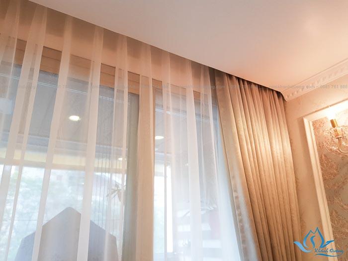 Bật mí ưu điểm của rèm vải Nhật BN203