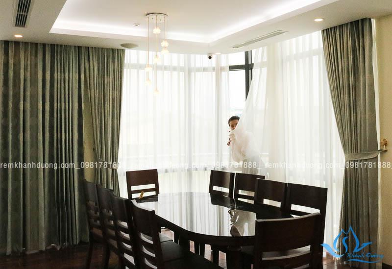 Địa chỉ cung cấp và lắp đặt rèm cửa uy tín tại Hà Nội