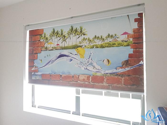 Bật mí tính năng của rèm cuốn tranh có máng RT38