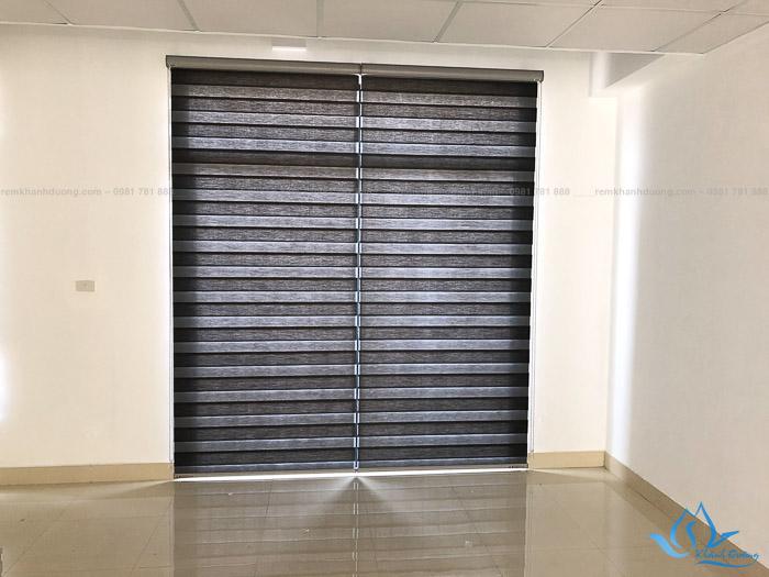 Mẫu rèm cầu vồng đẹp cho không gian nhà mặt phố tại Hà Nội