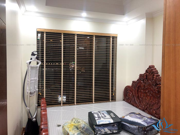 Rèm cửa gỗ tùng phù hợp cho nhiều không gian trong căn hộ
