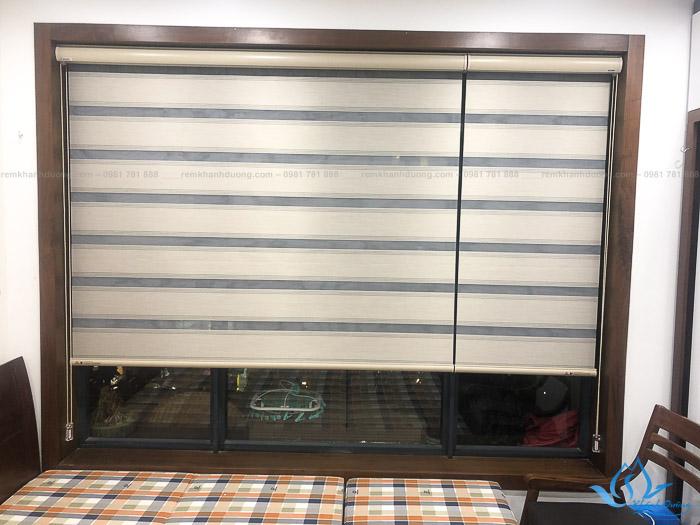 Lựa chọn rèm cầu vồng đẹp cho phòng ngủ chung cư Imperia, Hà Nội AP01