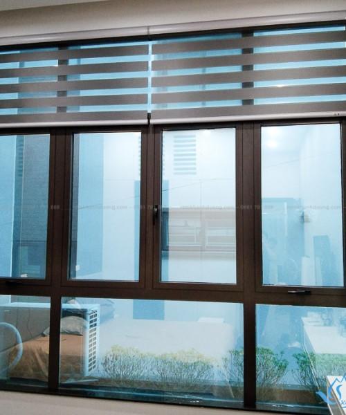 Mẫu màn cửa cầu vồng ấn tượng cho phòng ngủ Nguyên Hồng, Hà Nội SP513