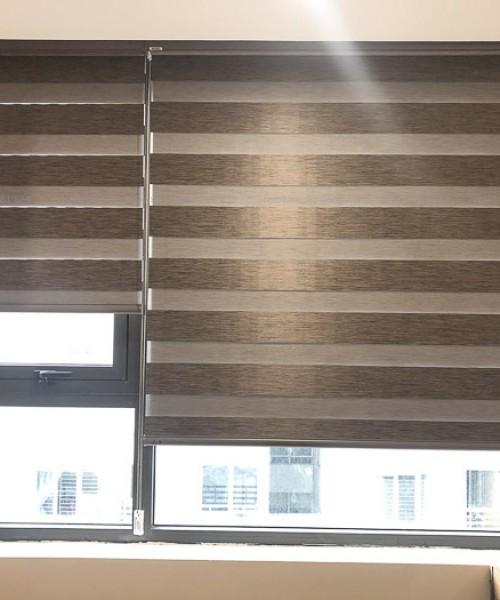 Mẫu rèm cầu vồng ấn tượng chống nắng khu Ngoại Gia Đoàn, Hà Nội AL135