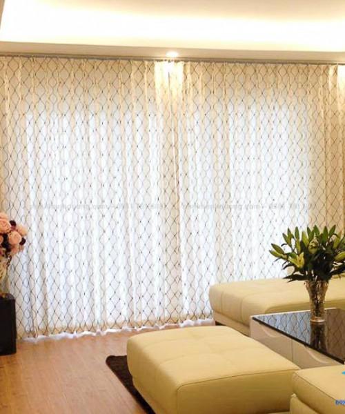 Mẫu rèm vải cao cấp Nhật cho chung cư tại KĐT Park City, Hà Đông RN-01