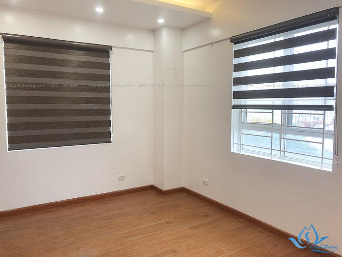 Lựa chọn rèm cửa cầu vồng chống nắng cho không gian phòng ngủ lớn phố Thành Thái