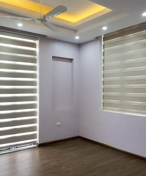 Rèm cầu vồng ấn tượng cho cửa sổ biệt thự Hà Đông, Hà Nội SN 331