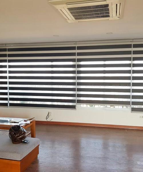 Rèm cầu vồng cho phòng khách hiện đại tại Long Biên-Hà Nội SF 483