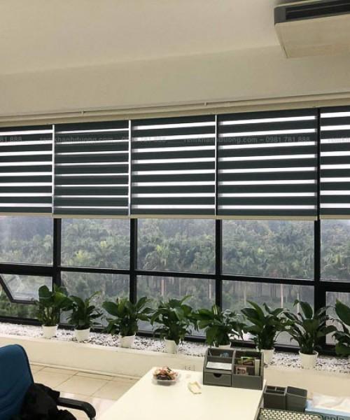 Rèm cầu vồng giá rẻ chống nắng tốt cho văn phòng mã TW 601 ở Hòa Lạc