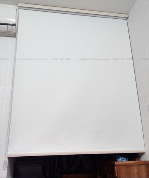 Rèm cửa sổ dạng cuốn hộp máng cầu vồng tại Đại Từ, Hoàng Mai RCC-01