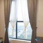 Rèm cửa vải đẹp một màu sang trọng tại Resort Đồng Trúc, Hà Nội 688-10