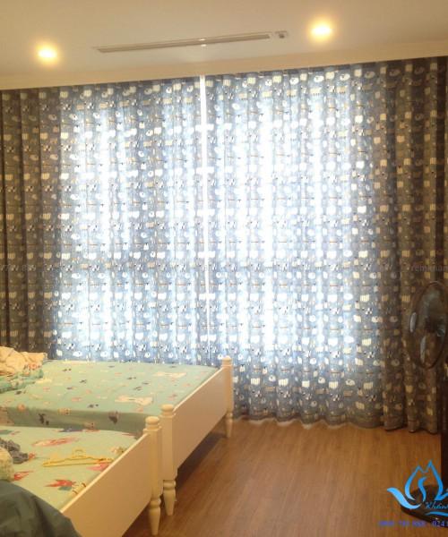 Rèm vải Đài Loan cao cấp cho phòng ngủ bé trai ở Nguyễn Chí Thanh A06