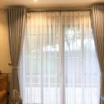 Rèm vải hai lớp cao cấp cho phòng khách tại Hàng Mành, Hà Nội GP485
