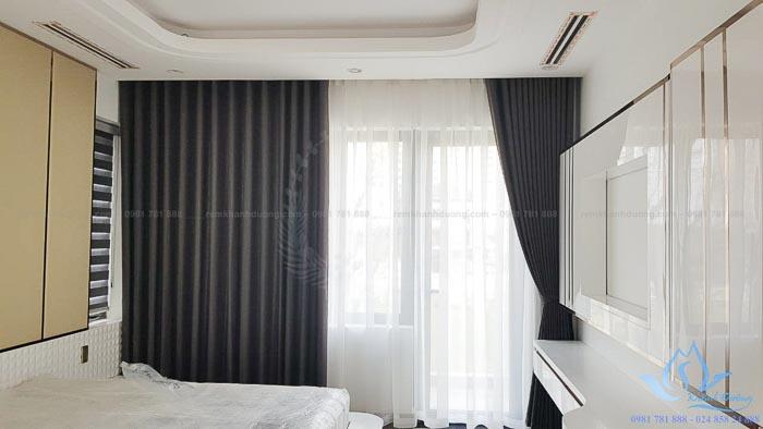 Rèm vải hai lớp chống nắng cách nhiệt đẹp nhất Thanh Xuân TM 1606-13