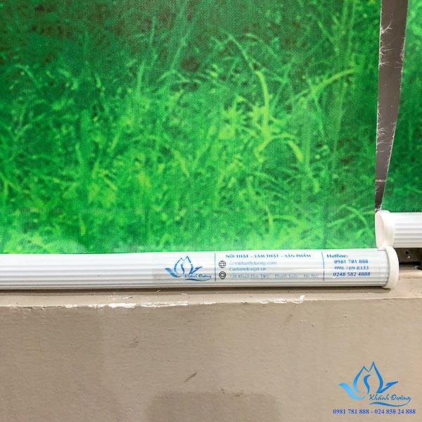 Rèm cuốn tranh PC-102 cho phòng ngủ tại Long Biên-Hà Nội