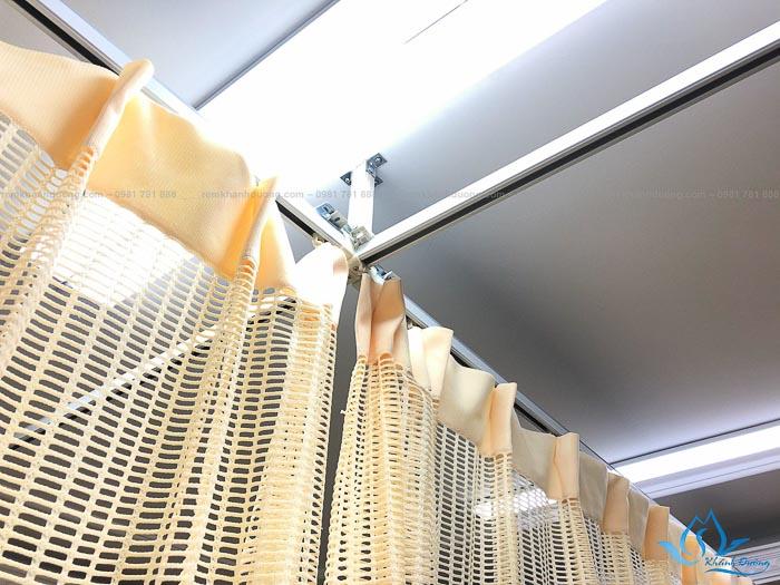 Rèm đẹp ngăn giường cho thẩm mĩ viện SP 34 ở Ba Đình
