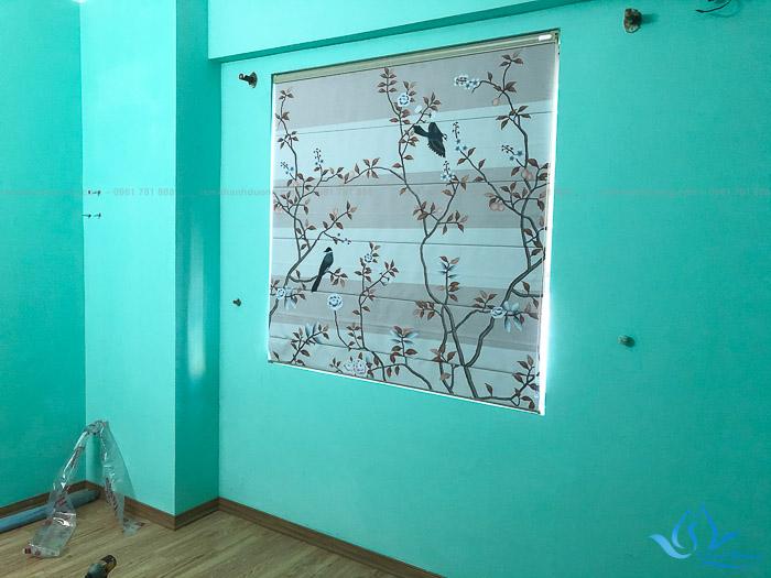 Địa chỉ cung cấp rèm roman họa tiết đẹp giá rẻ tại Hà Nội