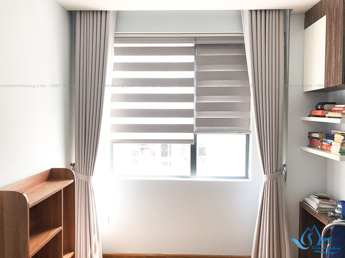 Giới thiệu mẫu rèm cầu vồng chống nắng đẹp cho phòng ngủ chung cư