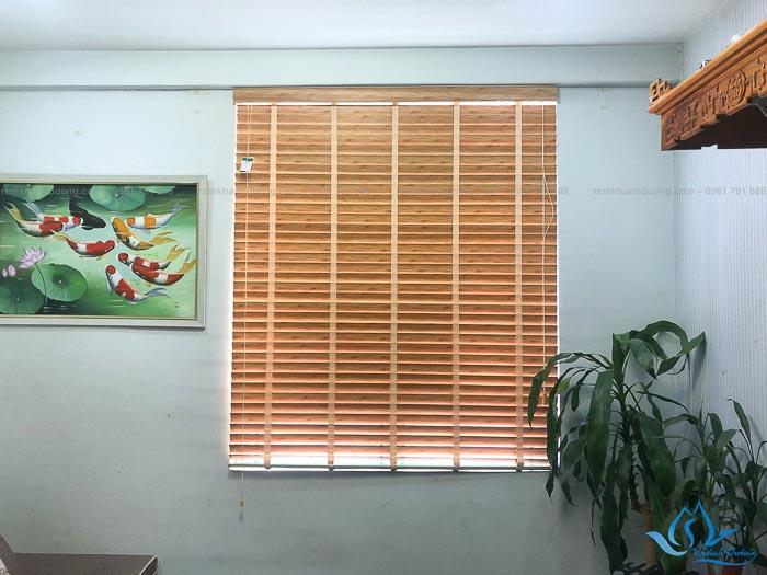 Rèm gỗ Sankaku được làm từ gỗ tự nhiên thân thiện với môi trường và người sử dụng