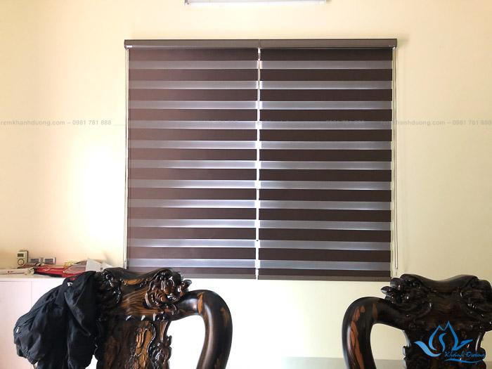 Tư vấn lựa chọn rèm cầu vồng đẹp cho phòng tiếp khách tại UBND
