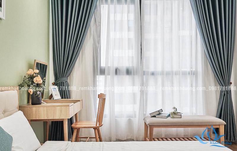 Tư vấn lựa chọn rèm phòng ngủ trang nhã Yên Hòa, Hà Nội RV 04