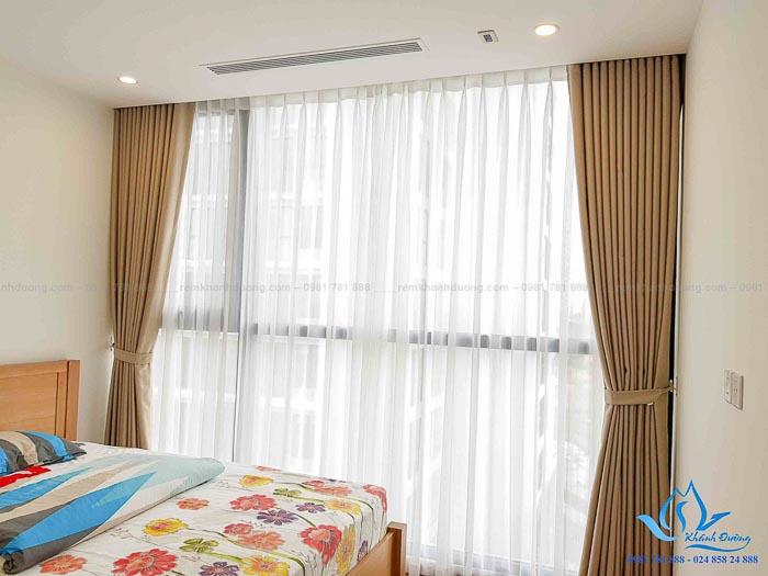 Rèm vải Trung Quốc cho phòng ngủ giá rẻ đẹp