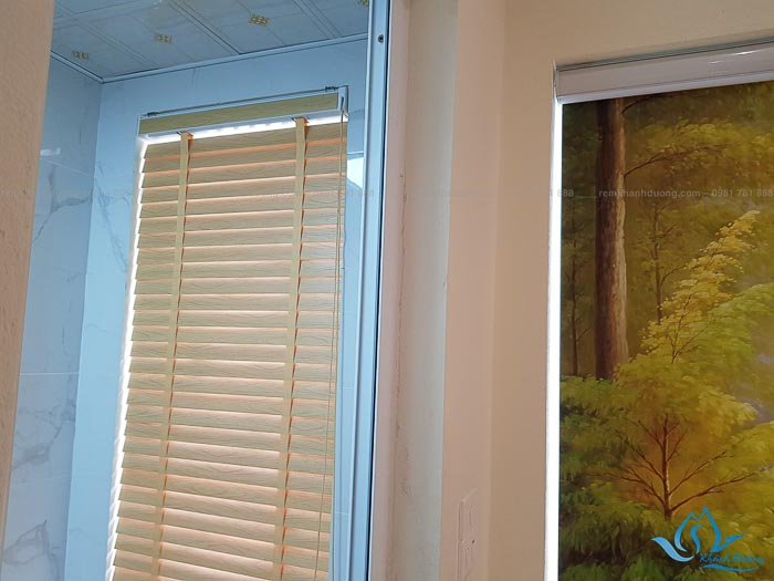 Công trình rèm cửa sổ nhà cô Hồng ở Mỗ Lao, Hà Đông