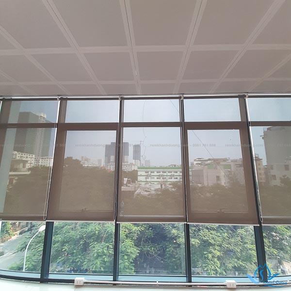 Công trình rèm cuốn lưới đẹp tại T4 The Sun - Mễ Trì
