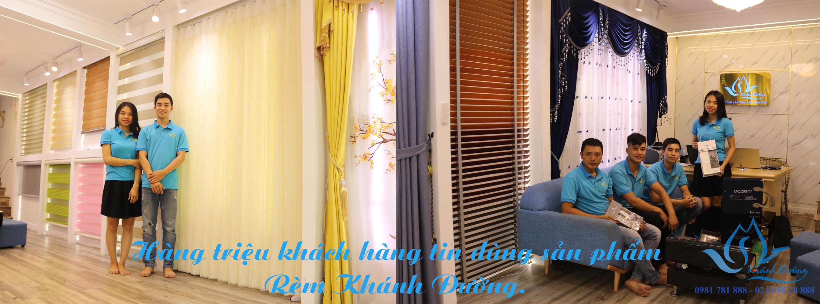 Rèm Khánh Đường là một địa chỉ uy tín để mua rèm với giá hợp lý