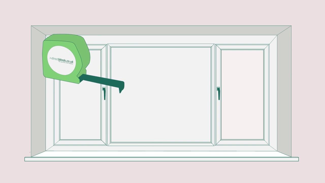 Khách hàng cần đo kích thước cửa sổ để chọn rèm phù hợp