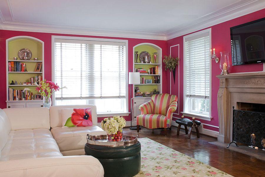 Lời khuyên từ chuyên gia tư vấn rèm đẹp cho tường hồng