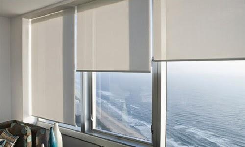 Rèm cuốn được sử dụng ở các chung cư
