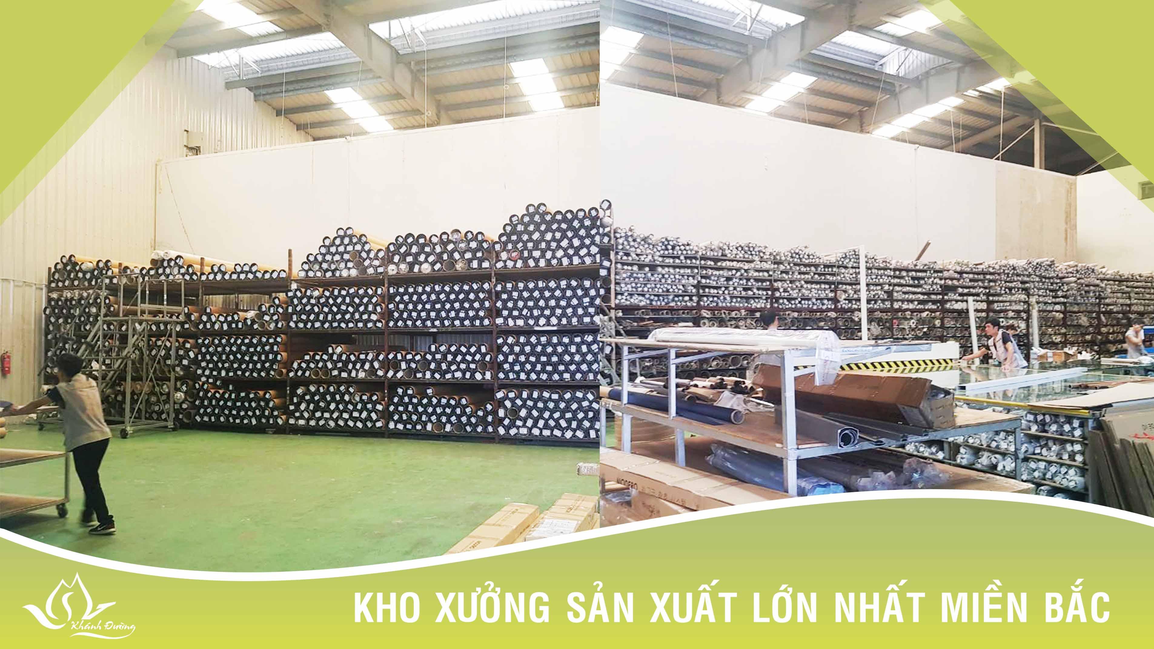 Xưởng sản xuất của chúng tôi khẳng định lớn nhất Miền Bắc