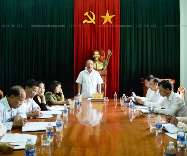 Báo giá phông sân khấu cho hội trường tại Nguyễn Trãi, Hà Nội HT11