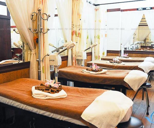 Chọn lựa mẫu rèm voan trắng spa đẹp nhất Xã Đàn, Hà Nội MA 22
