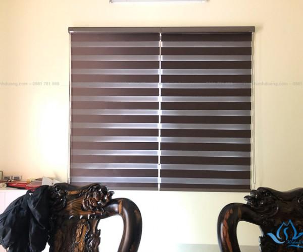 Giới thiệu mẫu rèm cầu vồng chống nắng tại UBND xã Tam Hưng SO584