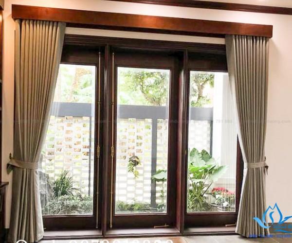 Giới thiệu mẫu rèm cửa biệt thự sang trọng tại KĐT Ecopark GP452