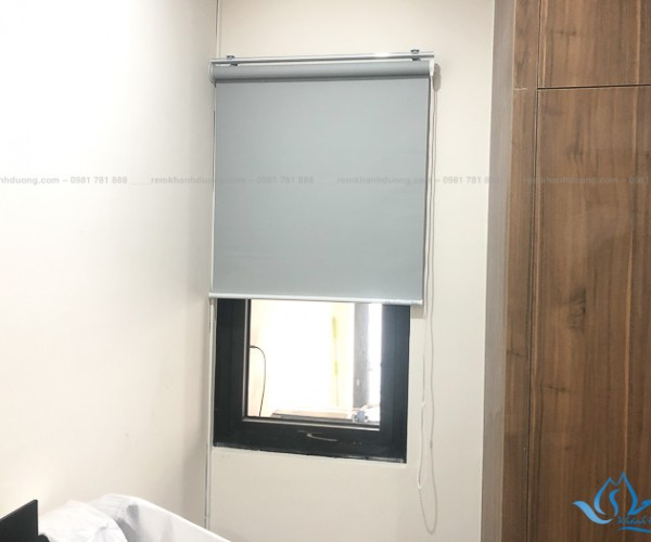 Giới thiệu mẫu rèm cuốn cửa sổ đẹp tại Roman Plaza Hà Nội KD 994