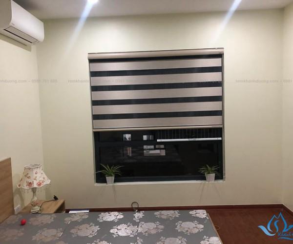 Lắp đặt rèm cầu vồng phòng ngủ chống nắng Lê Trọng Tấn, Hà Nội VT471