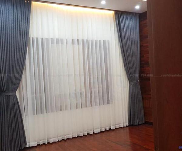 Lắp đặt rèm vải hai lớp  tại khu đô thị Văn Phú- Hà Đông L18-36
