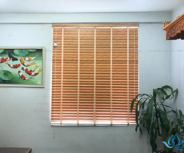 Lựa chọn rèm gỗ đẹp chung cư Thanh Bình thoáng mát Hà Nội SKK311