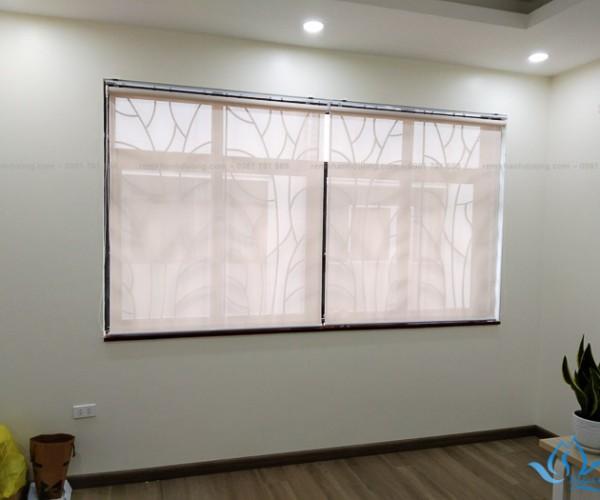Màn cuốn lưới cửa sổ hiện đại tại Vinhomes Gardernia Hàm Nghi A4005
