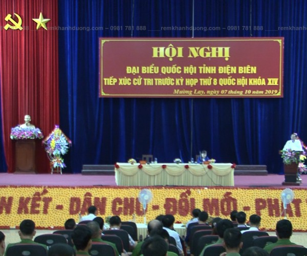 Màn hội trường tổ chức các hội nghị lớn tại Hai Bà Trưng, Hà Nội HT 05