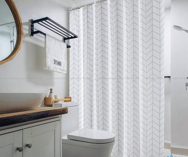 Màn nhà tắm giá rẻ chống thấm nước quận Cầu Giấy mã SCS 21