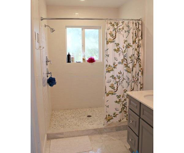 Màn treo nhà tắm vải chống thấm cao cấp mã PT-105 quận Tây Hồ