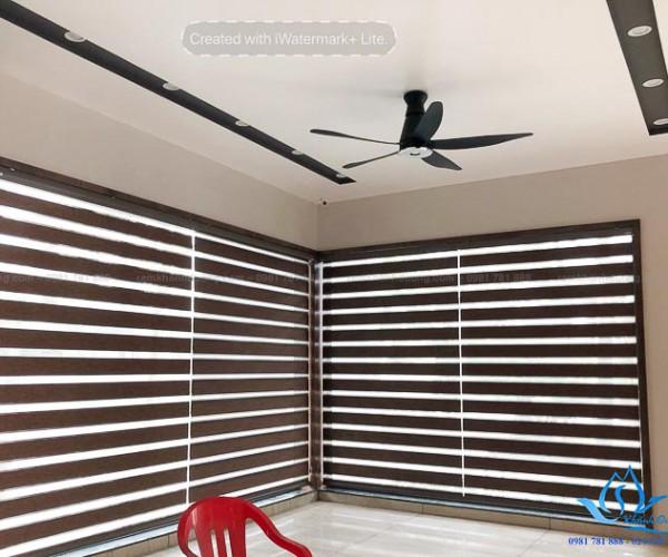 Mành cầu vồng Hàn Quốc cho cửa sổ đẹp Hai Bà Trưng, Hà Nội SF 484