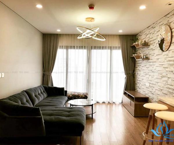 Mẫu rèm Hàn Quốc cao cấp nhà chung cư hiện đại Kim Giang, Hà Nội E03