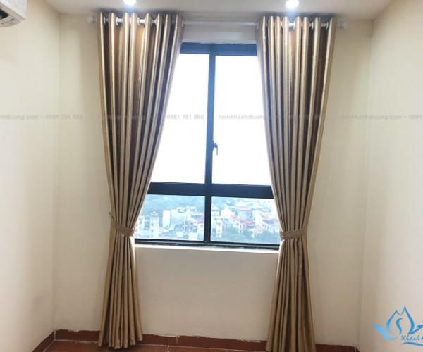 Mẫu rèm vải chung cư đẹp tại chung cư Hồng Hà, Thịnh Liệt RV23